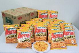 【ふるさと納税】BY05_ヤマザキビスケット『エアリアル』濃厚チェダーチーズ味(10袋×2ケース)