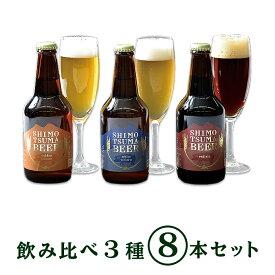 【ふるさと納税】ビール 14-5しもつまクラフトビール8本セット
