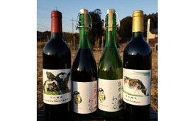 【ふるさと納税】牛久醸造ワイン 飲み比べ4本セット 【08219-0011】