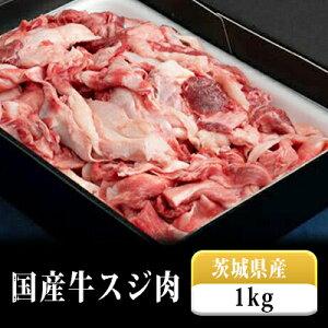 【ふるさと納税】国産牛スジ肉500g×2 【お肉・牛肉・スジ肉・スジ】