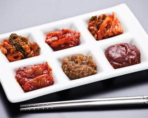 【ふるさと納税】No.038 本場韓国の無添加キムチ・チャンジャ詰め合わせセット / 塩辛 白菜キムチ からし味噌 韓国のり 唐辛子