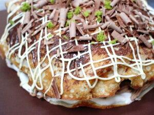 【ふるさと納税】お好み焼き型ケーキ
