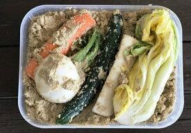 【ふるさと納税】菜香やの(オーガニック)ミルキークィーン米ぬか床とぬか漬けセット