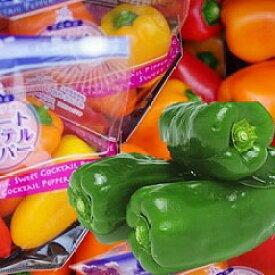 【ふるさと納税】ピーマン生産日本一!!神栖市産のピーマン&ミニパプリカ(各1kg)