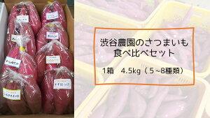 【ふるさと納税】いろんなさつまいも食べ比べセット 4.5kg(5〜8品種)