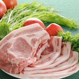 【ふるさと納税】☆行方産米豚 スライスセット(2kg)