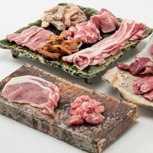 【ふるさと納税】No.374 豚肉堪能セット(茨城県産豚肉使用) バラエティーセット 1頭分の各部位 堪能 贅沢 送料無料