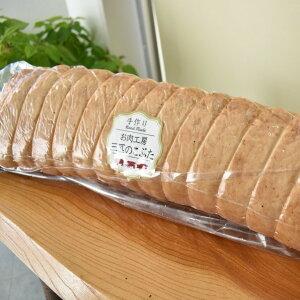 【ふるさと納税】No.380 鉾田市産豚肉 ロースハム 1本(約4kg前後) イタリア天日塩 燻煙スチーマー 臭みがない 柔らかい 送料無料