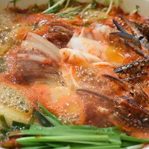 【ふるさと納税】No.460 カニキムチ鍋(トック餅入り) 2kg 簡単 本格 冷凍 鍋料理 セット 2送料無料