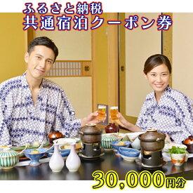 【ふるさと納税】AX010_ふるさと納税共通宿泊クーポン券30,000円分