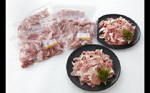 【ふるさと納税】茨城県産豚肉 いち美豚小間切れ3000g(500g×6パック)|肉 豚肉 3kg 小分け 国産