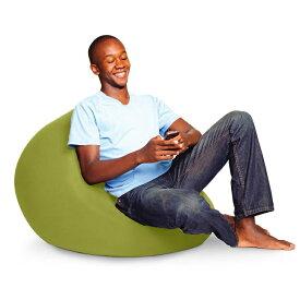 【ふるさと納税】Yogibo Mini (ヨギボー ミニ) ライムグリーン 1人掛け ビーズクッション ビーズソファ クッション 座椅子