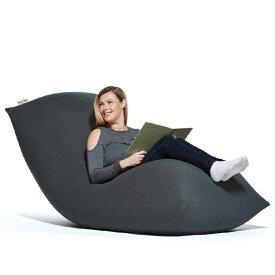 【ふるさと納税】Yogibo Max(ヨギボー マックス) ダークグレー|特大Lサイズ ビーズクッション 2人掛けソファー ビーズソファ クッション 座椅子