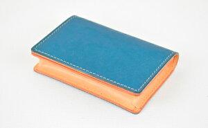 【ふるさと納税】名刺入れ minca/Card holder 02/BLUE