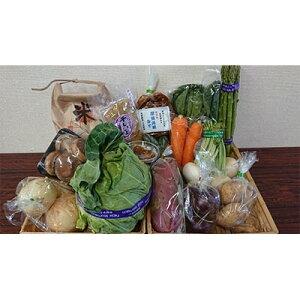 【ふるさと納税】米と野菜と加工品の詰め合わせセット【1110156】