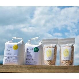 【ふるさと納税】〔B-55〕【贅沢セットB】自然米2kg・特別栽培米2kg&イナポン2袋のセット※2020年9月中旬頃までに順次発送予定※本州のみ発送可能