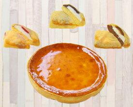 【ふるさと納税】No.059 特製ベイクドチーズケーキとクレープ3種セット