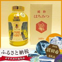 【ふるさと納税】No.016最高級国産天然アカシアはちみつ2.4kg