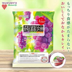【ふるさと納税】マンナンライフ 蒟蒻畑 ぶどう味 1ケース(25g×12個×12袋) F20E-536