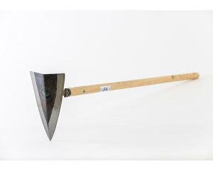 【ふるさと納税】No.039 三角鍬(くわ)約24cm / 農具 クワ 鍛冶 園芸 農作業 群馬県