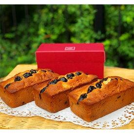 【ふるさと納税】地球屋のフルーツパウンドケーキ (3本セット)【1061868】