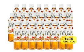 【ふるさと納税】からだ巡茶410mlペットボトル×24本×5ケース(全120本)【11100-0089】