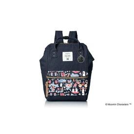 【ふるさと納税】Moomin miniリュック(ネイビー)【ムーミン基金限定】 【キャラクター・ファッション・バッグ・リュック】 お届け:発注後、お届けまでに約1〜2月程かかります。