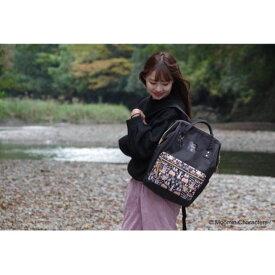 【ふるさと納税】Moomin リュック(ブラック) 【キャラクター・ファッション・バッグ・リュック】 お届け:発注後、お届けまでに約1〜2月程かかります。