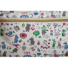 【ふるさと納税】Moomin リュック(ホワイト)【ムーミン基金限定】 【キャラクター・ファッション・バッグ・リュック】 お届け:発注後、お届けまでに約1〜2月程かかります。
