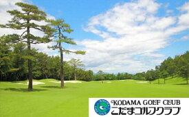 【ふるさと納税】こだまゴルフクラブ 平日ゴルフプレー券1枚 【11211-0011】