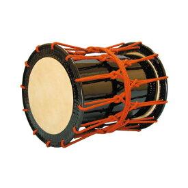 【ふるさと納税】AAI-20 桶胴太鼓1.4尺(赤紐)肩掛けストラップ(黒)付【諏訪工芸】