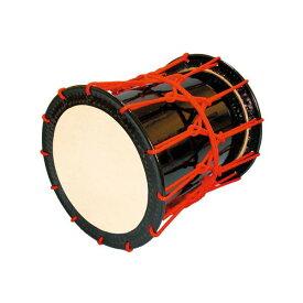 【ふるさと納税】AAI-22 桶胴太鼓1.6尺(赤紐)肩掛けストラップ(黒)付【諏訪工芸】