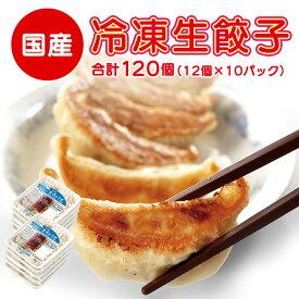 【ふるさと納税】冷凍生餃子10パック(120個) ぎょうざの満洲【1238201】