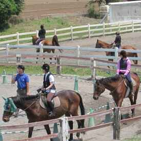 【ふるさと納税】体験乗馬 メンバー体験コース