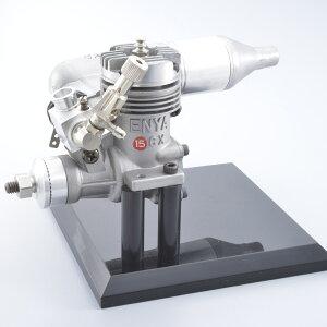 【ふるさと納税】ENYA15CXTN(2.45cc小型模型飛行機用グローエンジン)&M154(小型模型飛行機用マフラー)