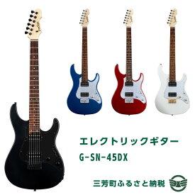 【ふるさと納税】エレクトリックギター G-SN-45DX