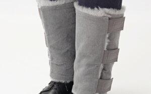 【ふるさと納税】メリノン「レッグウォーマー」羊毛(ウール)たっぷりで冬の外出も快適!