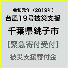 【ふるさと納税】【令和元年 台風19号災害支援緊急寄附受付】千葉県銚子市災害応援寄附金(返礼品はありません)