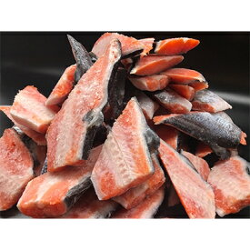 【ふるさと納税】【わけあり】チリ産 定塩 塩銀鮭切り落とし(尾身)大容量! 約3.5kg【1138635】