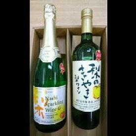 【ふるさと納税】C-1 梨ワインと梨スパークリングワインの詰合せ 送料無料 千葉県 鎌ケ谷市 梨 ワイン スパークリングワイン 梨ワイン 詰め合わせ セット