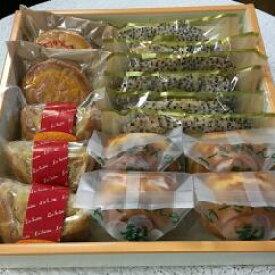 【ふるさと納税】D-3【ラ・セーヌ】鎌ケ谷そだちの梨を使った洋菓子とサクサクのゴマリーフパイ詰合せ なし スイーツ パイ ケーキ サブレ