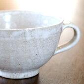 スープカップ白釉(11.5×7cm)