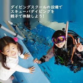 【ふるさと納税】 親子でダイビング体験 体験時間3時間 ダイビング専用プール 初心者歓迎
