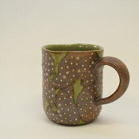 【ふるさと納税】 釉彩マグカップ コップ おしゃれ 工芸品 手作り 食器 陶器