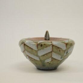 【ふるさと納税】 釉彩蓋物 蓋付き碗 保存容器 和食器 おしゃれ モダン 工芸品 手作り 陶器 装飾品