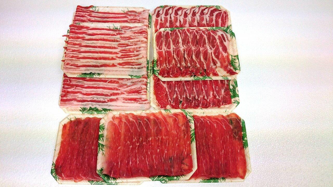 5651-0335【ふるさと納税】里見和豚焼肉・鍋セット
