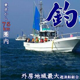 【ふるさと納税】 釣り 乗船券 1回券 外房 大原
