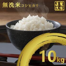 【ふるさと納税】 米 10kg 無洗米 送料無料 コシヒカリ こしひかり 令和元年産 白米