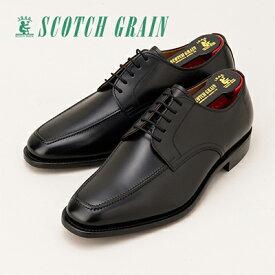 【ふるさと納税】スコッチグレイン紳士靴「アシュランス」NO.3529(ブラック)【ウィズEEE】【特典:靴クリーム等セット】SCOTCH GRAIN ビジネスシューズ メンズ 革靴