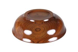 【ふるさと納税】スリ漆ケヤキ尺三寸木鉢